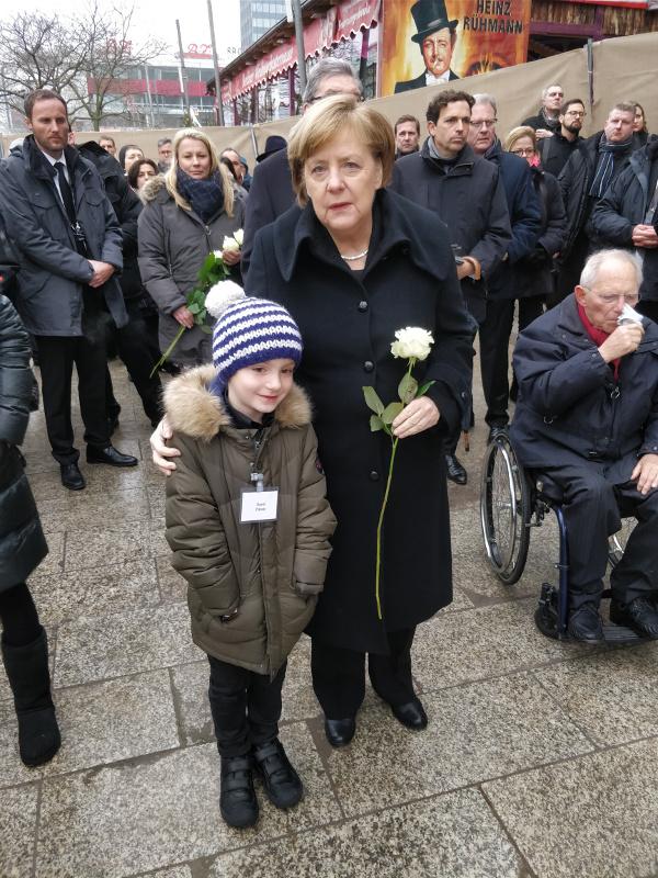David a Merkelová